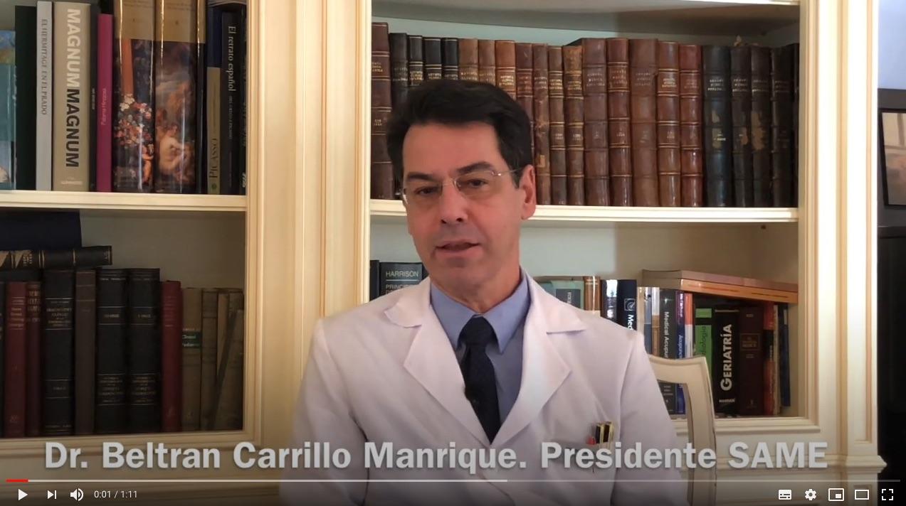 #ÚneteaSAME: Dr. Beltran Carrillo
