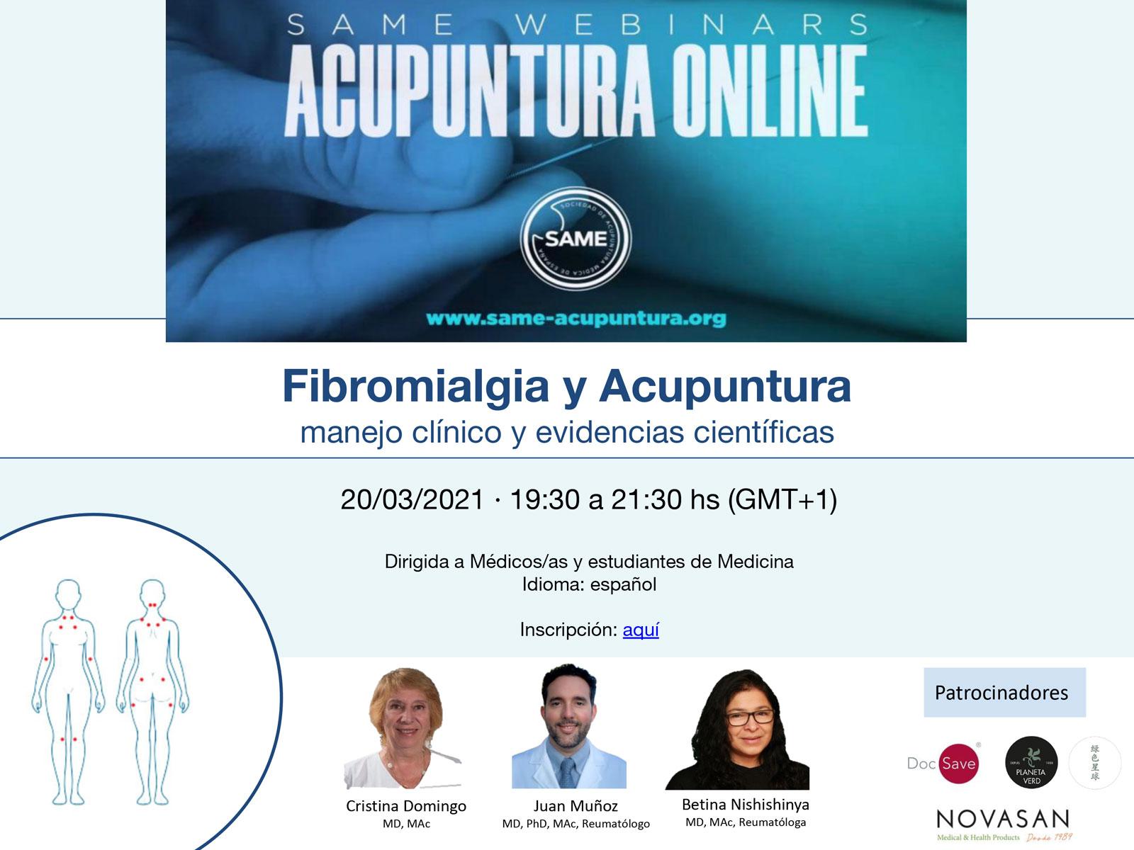 Seminario fibromialgia y acupuntura